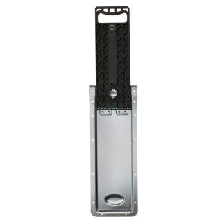 0 Adam Hall Hardware 34733 - Maniglia a Incasso Pieghevole lunghezza 434 - 684 mm