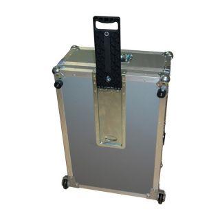 2 Adam Hall Hardware 34733 - Maniglia a Incasso Pieghevole lunghezza 434 - 684 mm
