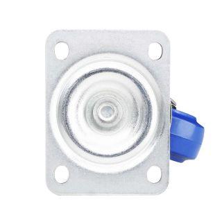 2 Adam Hall Hardware 372081 - Ruota Orientabile 80 mm con Ruota blu