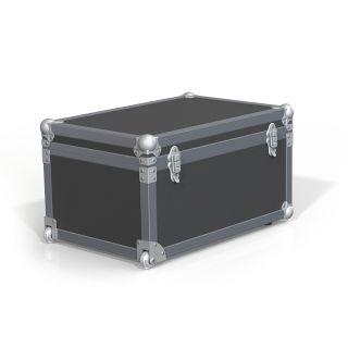 1 Adam Hall Hardware 37600 S - Ruota a incasso invisibile angolare con ruota di 48 mm in alloggiamento pressofuso di alluminio