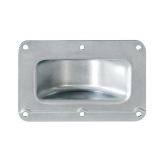 0 Adam Hall Hardware 38081 - Piatto di montaggio impilabile a gomito in acciaio zincato