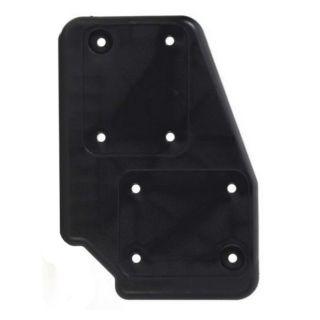 0 Adam Hall Hardware 38085 R - Piastra per Ruote in poliammide nera, destra