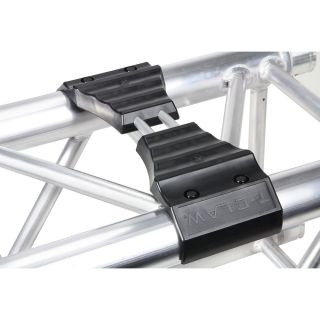 2 Adam Hall Truss T-CLAW - Sistema di impilamento Truss Stacker per traverse con diametro esterno di 290 mm