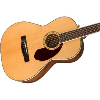 Chitarra Elettroacustica Fender PM-2 Standard Parlor Natural con Case 03