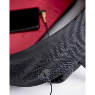 4 Marshall Headphones - ACCS-00204 Zaino Crosstown Black/Black