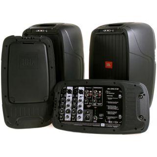 4-JBL EON 210P Portable PA