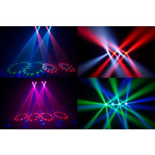 4-CHAUVET DJ 4Play - Kit ef