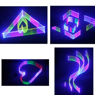 4-FLASH LASER 1000mW 3D RGB