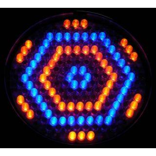 4-FLASH LED PAR 64 186x 10m