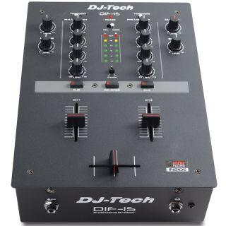 4-DJ TECH DIF-1S - MIXER DJ