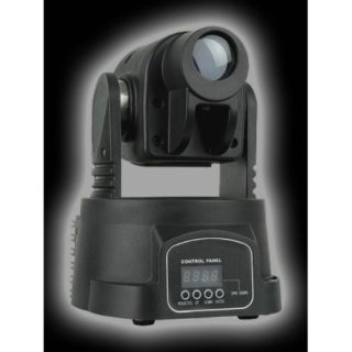 4-FLASH MOVING HEAD LED 15W