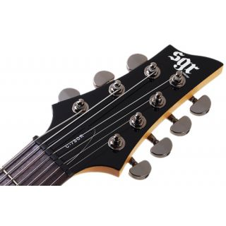 4-SGR BY SCHECTER C-7-BLK -