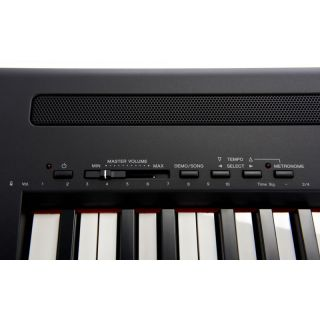 4-YAMAHA P95 Black - PIANOF