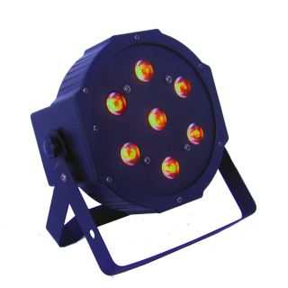 4-FLASH LED PAR SLIM 56 RGB