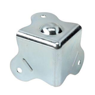 0 Adam Hall Hardware 4005-05 - Angolo a tre fianchi con piede integrato raggio interno da 5 mm