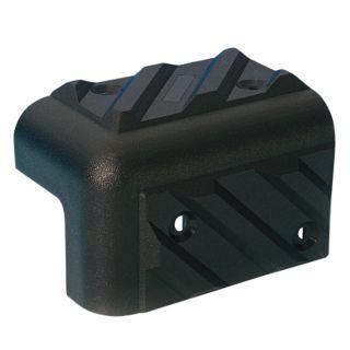 0 Adam Hall Hardware 4013 - Angolo in plastica per Casse impilabile nero