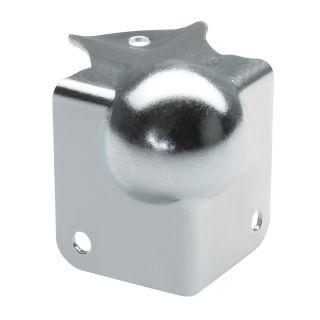 0 Adam Hall Hardware 41143 - Angolo Sferico piccolo con Angolo a L 37 mm integrato sagomato 22 mm