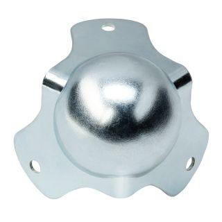 0 Adam Hall Hardware 4120-05 - Angolo sferico medio a tre fianchi con raggio interno da 5 mm