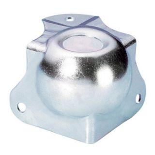 0 Adam Hall Hardware 41261 - Angolo Sferico medio con Angolo a L 42,5 mm integrato sagomato 30 mm con Rientranza per Impilaggio