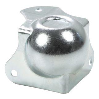 0 Adam Hall Hardware 41263 - Angolo Sferico medio con Angolo a L 40 mm integrato sagomato 30 mm con Rientranza per Impilaggio