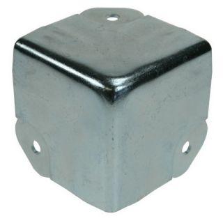 0 Adam Hall Hardware 4146 - Angolo a tre Fianchi sagomato per Profilo di Copertura Coperchio 6145