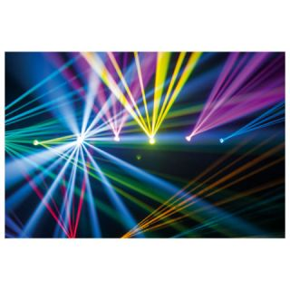 SHOWTEC INFINITY iB-5R - Testa Mobile Effetto Beam_effect_1