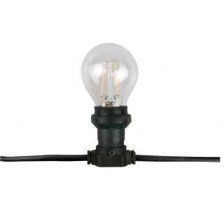 1 Showtec - Belt Light E27, Black cable - Deco lights