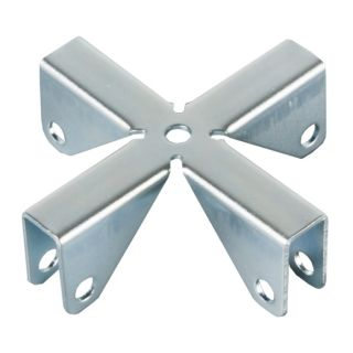 0 Adam Hall Hardware 4291 - Croce per Pannelli divisori 9,2 mm