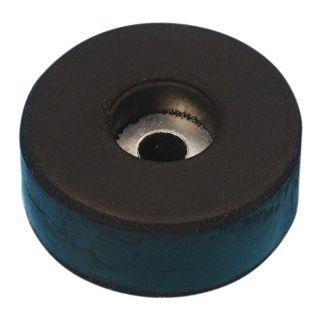 0 Adam Hall Hardware 4907 - Piede in gomma 38 x 15 mm