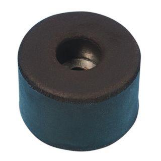 0 Adam Hall Hardware 4911 - Piede in gomma 38 x 25 mm