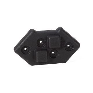 0 Adam Hall Hardware 4939 - Piede impilabile in plastica per Montaggio Angolare