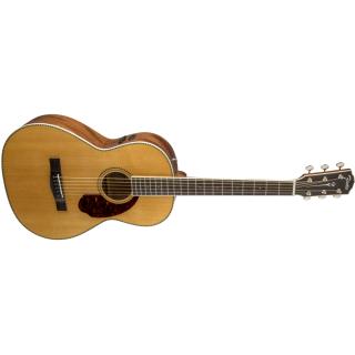 Chitarra Elettroacustica Fender PM-2 Standard Parlor Natural con Case 04