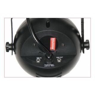 5-FLASH LED 9W RGB DMX SPOT
