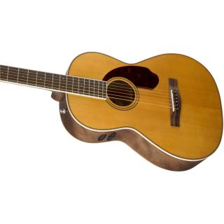 Chitarra Elettroacustica Fender PM-2 Standard Parlor Natural con Case 05