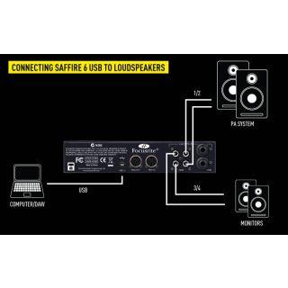 6-FOCUSRITE SAFFIRE 6 USB -