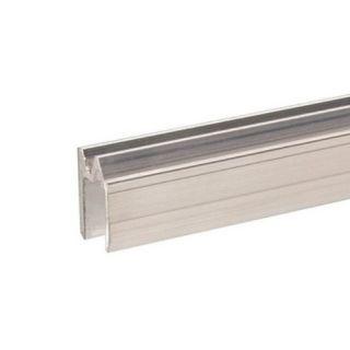 0 Adam Hall Hardware 6103 - Profilo di Chiusura ibrido di alluminio per Materiale da 9,5 mm