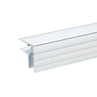 0 Adam Hall Hardware 6107 - Profili in alluminio Casemaker per Materiale da 9,5 mm