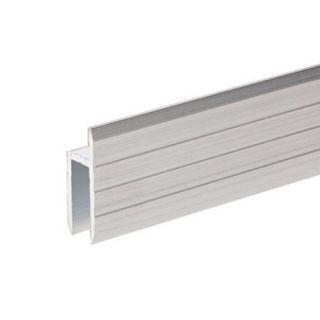 0 Adam Hall Hardware 6126 - Profilo ad H in alluminio per Sportelli Rack da 7 mm