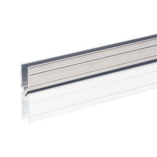 0 Adam Hall Hardware 6142 M - Profilo di Chiusura in alluminio maschio per Materiale da 7 mm