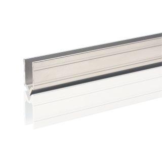 0 Adam Hall Hardware 6144 M - Profilo di Chiusura in alluminio maschio per Materiale da 9,6 mm