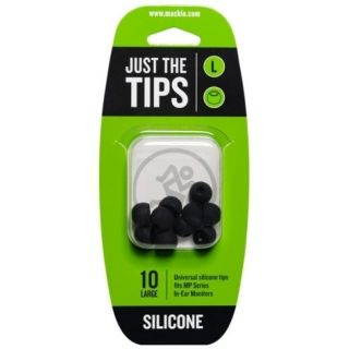 0 MACKIE - MP SERIES LARGE SILICONE BLACK TIPS KIT