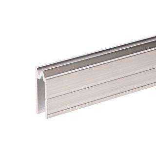 0 Adam Hall Hardware 6202 - Profilo di Chiusura ibrido di alluminio per Materiale da 7 mm