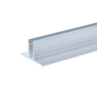 0 Adam Hall Hardware 6210 - Canale in alluminio per Pannelli Divisori da 7 mm