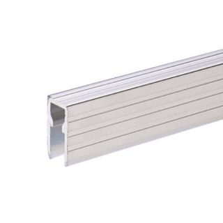 0 Adam Hall Hardware 6220 - Copertura in Alluminio ed Elemento di Fissaggio per Pannelli Divisori da 9,5 mm