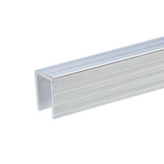 0 Adam Hall Hardware 6240 - Copertura in alluminio per Pannelli Divisori da 9,5 mm