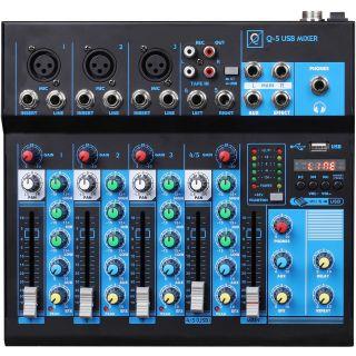 0 Oqan MIXER Q5 MK2 USB Mixer