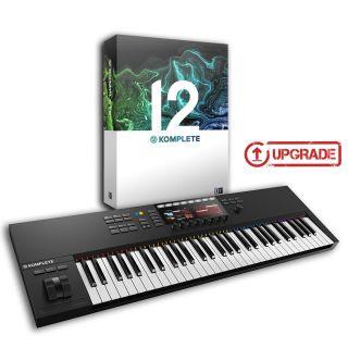 Native Instruments Komplete Kontrol S61 MKII / Komplete 12 Upgrade da Select