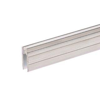 0 Adam Hall Hardware 6302 - Profilo di Chiusura ibrido di alluminio per Materiale da 7 mm