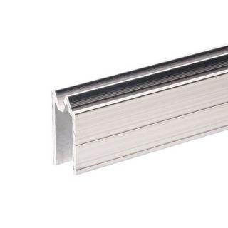 0 Adam Hall Hardware 6304 - Profilo di Chiusura ibrido di alluminio per Materiale da 9,5 mm