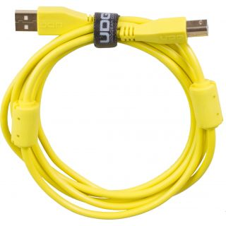 0 Udg U95002YL - ULTIMATE CAVO USB 2.0 A-B YELLOW STRAIGHT 2M Cavo usb